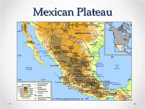best photos of physical features of mexico sierra madre image gallery mexican plateau