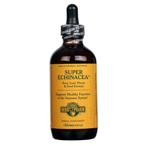 Herb Pharm Liver Detox by Evitamins Herb Pharm Echinacea 4 Fl Oz