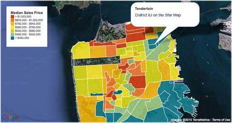 san francisco neighborhood map tenderloin the tenderloin san francisco ca 94102 94109