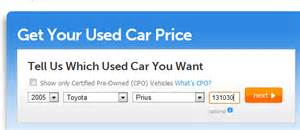 Used Car Valuation Tool Selling My Toyota Prius 2005 Emmanuel S