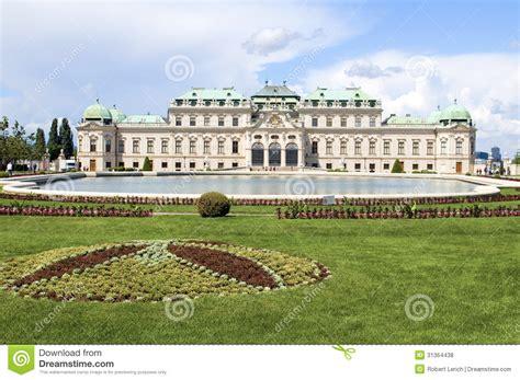 Landscape Vienna Belvedere Palace Castle Vienna Austria Europe With