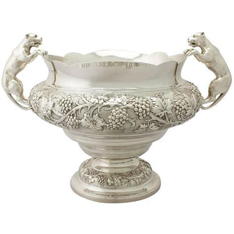 antique george v sterling silver presentation bowl for