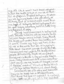 Bully Essay by Essays On Bullying Laws Stonewall Services