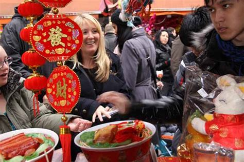 new year food stalls picturing new year in sense
