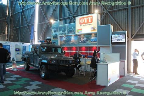 ott technologies introduces light armoured patrol vehicle