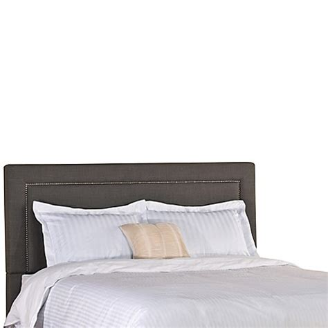 soft headboard buy hillsdale claire queen headboard in soft grey from bed