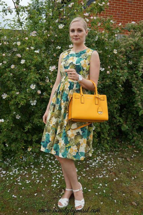 Emily Dillen Handbag ootd my this summer s favorite dress link up
