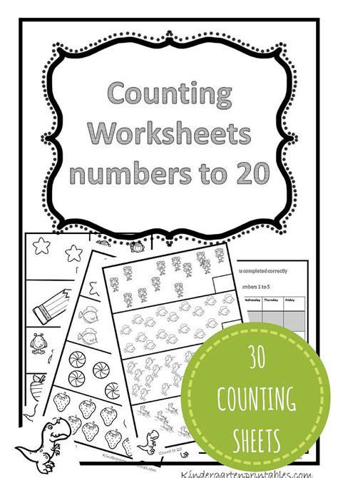 Counting 1 20 Worksheets by Counting Worksheets 1 20 Precalcolo Insiemistica E