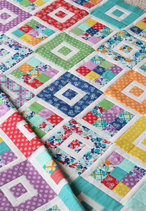 Jelly Roll Patchwork Patterns - shortcake quilt pattern jelly roll friendly fabric