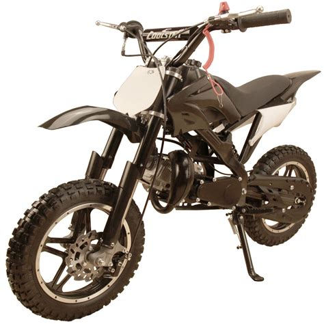 black motocross bike 49cc 50cc high performance black 2 stroke gas motorized