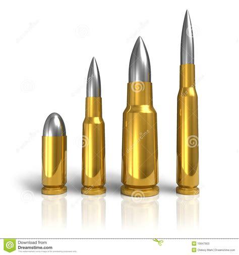 set of different bullets stock illustration illustration