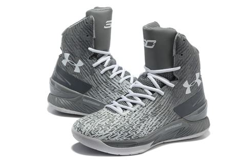Armor Curry Two High s armour ua stephen curry two high basketball shoes grey white clearance sale