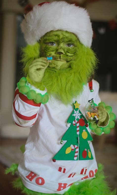 toddler grinch costume baby grinch halloween diy kids