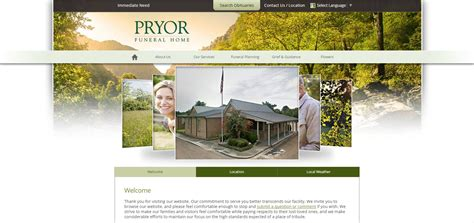 Funeral Home Web Design Gooosen Com Funeral Home Web Design