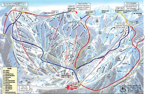 brighton trail map layne s march 2010