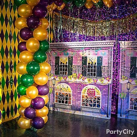 mardi gras themed bedroom turn your party room into the french quarter grab a few