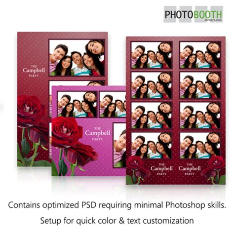 breeze photo booth layout my roses photo booth templates for breeze photoboof