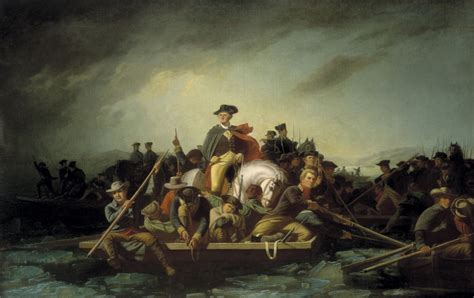 george washington painting boat bingham s washington crossing the delaware graphic arts