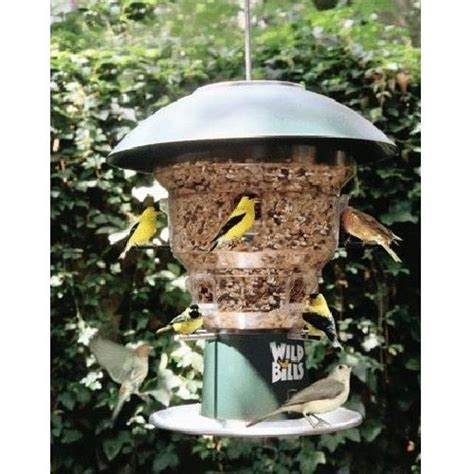 wild bills electronic squirrel proof bird feeder 8 port ebay