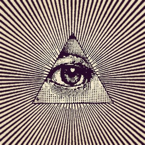 illuminati triangle eye eye could be thirdeye innereye eye illuminati