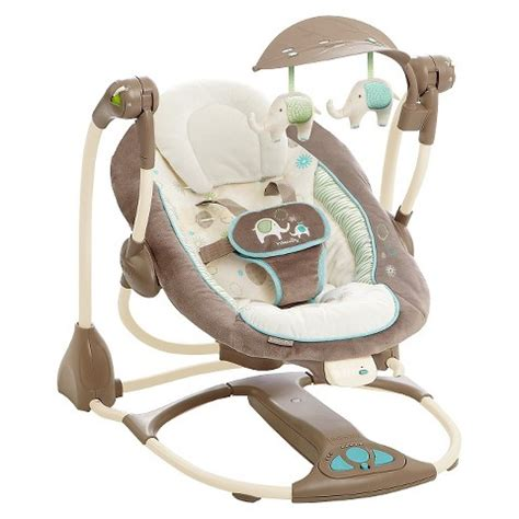 travel baby swings ingenuity convertme swing 2 seat sahara burst target