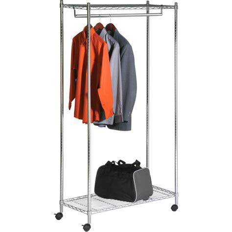 Walmart Clothing Racks by Honey Can Do Deluxe Commercial Garment Rack Chrome Walmart