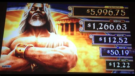 game kronos father  zeus slot machine multiple big win features  progressives