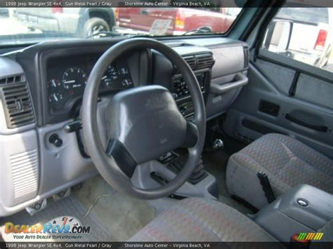 jeep wrangler grey interior gray interior 1998 jeep wrangler se 4x4 photo 15