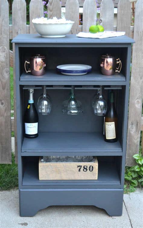 how to turn a curbside dresser into a bar creative days