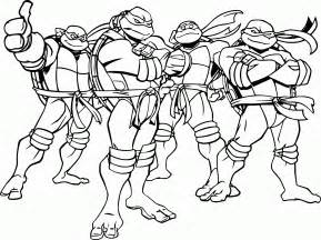 free printable teenage mutant ninja turtles coloring pages