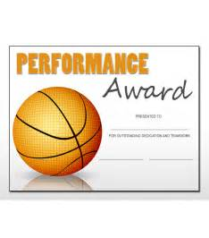 Basket Template by Basketball Sports Award Template