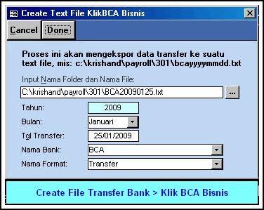 bca bisnis bagaimana cara transfer gaji pegawai dengan klik bca bisnis