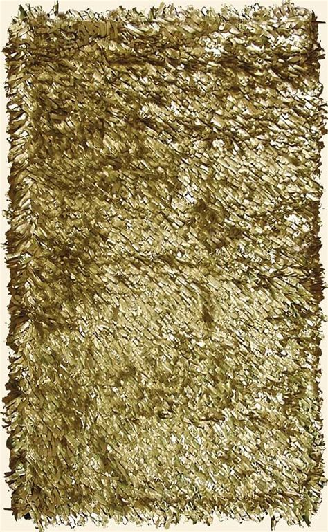Gold Shag Rugs by Leather Metallic Gold Shag Rug I M Floored
