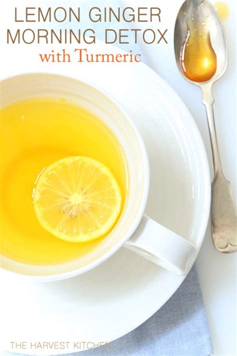 Lemon Morning Detox Drink by 38 Diy Detox Ideas