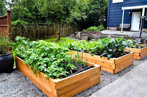 Raised Bed Vegetable Garden Plans Garden Landscap Free Vegetable Garden In