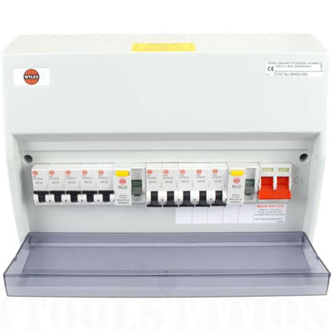 wylex consumer units toolstation