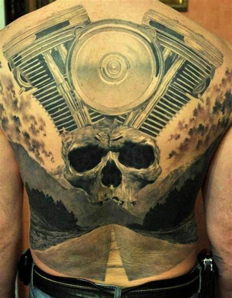 harley engine tattoo designs 3d back tattoos truetattoos