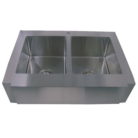 stainless steel apron front kitchen sinks 36 stainless steel zero radius kitchen sink curve apron