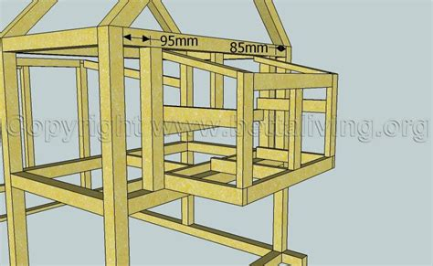 Tomr Free Access Chicken Coop Plans Door Dimensions Chicken House Blueprints Free