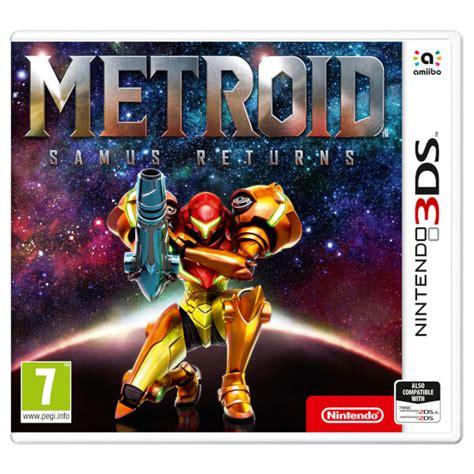 Kaset 3ds Metroid Samus Returns metroid samus returns nintendo official uk store