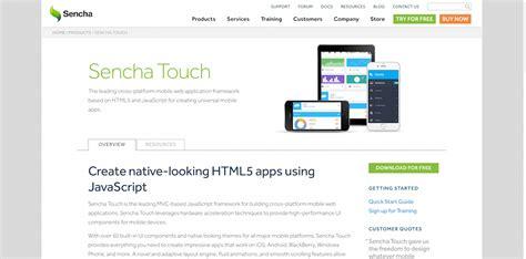 mobile web ui framework top 22 best free html5 frameworks for responsive web