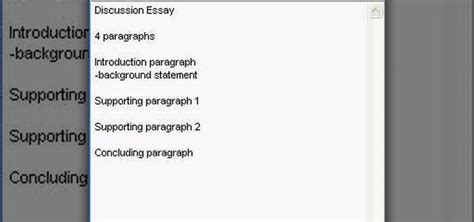Writing A Discussion Essay by How To Write A Discussion Essay Outline 171 Language Culture Wonderhowto