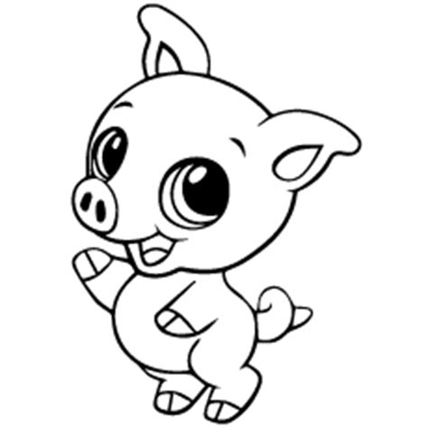 large pig coloring page funny creature 26 pig coloring pages for kids print
