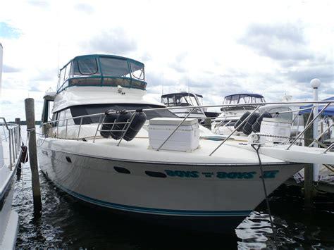 boats for sale long beach island nj 1990 silverton 46 motor yacht power boat for sale www