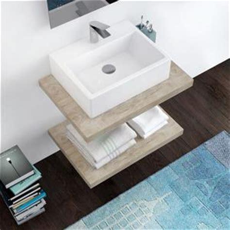 mensola per lavabo da appoggio prezzi mensola piano per lavabo appoggio arredo bagno
