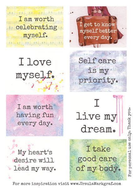 Affirmation Card Templates by Affirmations Resolutions Intentions Affirmations