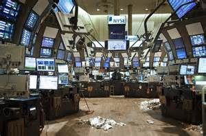 Hurricane sandy update new york stock exchange closes for first time