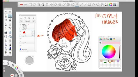 sketchbook pro coloring tutorial basics of sketchbook pro updated tutorial