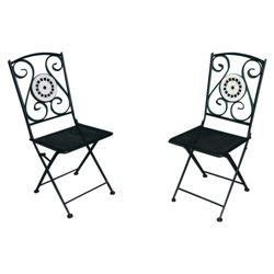 Tesco Bistro Chairs Palma Mosaic Bistro Chairs Pack Of 2 163 32 Tesco Wishlist Gardens Mosaics