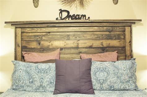 Wood Headboards Diy Cavalier Diy White Reclaimed Wood Headboard